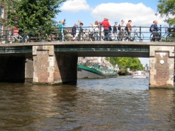 i loved the bridges of Amsterdam!