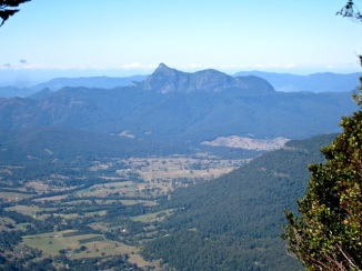 Mount Warning, from The Border Track, Lamington NP, QLD
